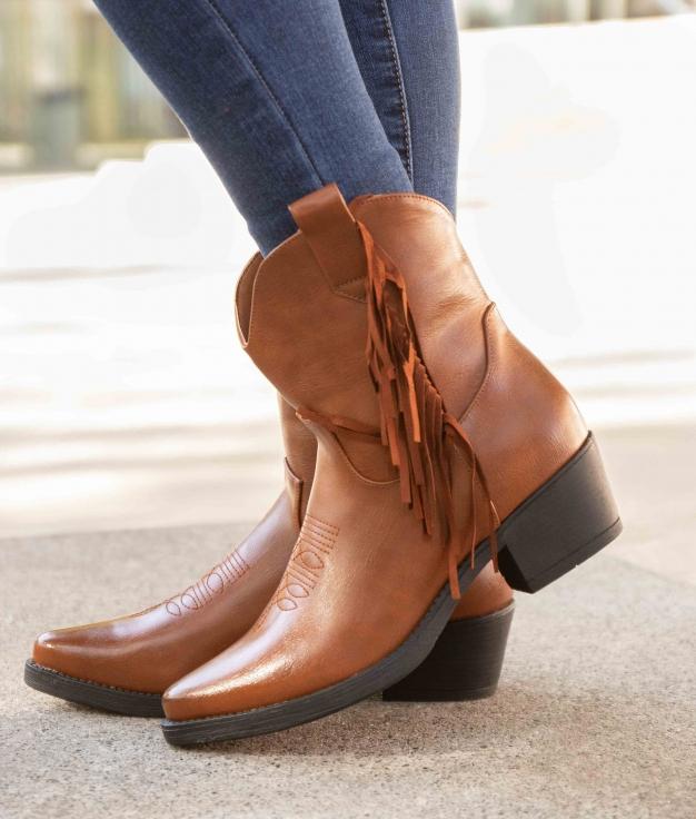 Low Boot Tiru - Camel