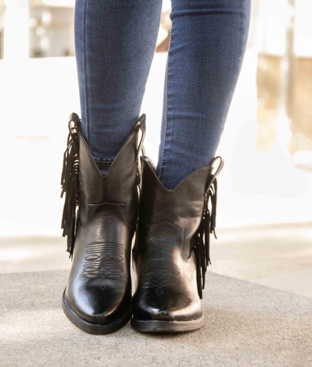 Low Boot Tiru - Black