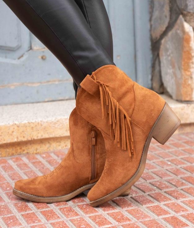 Low Boot Batal - Camel