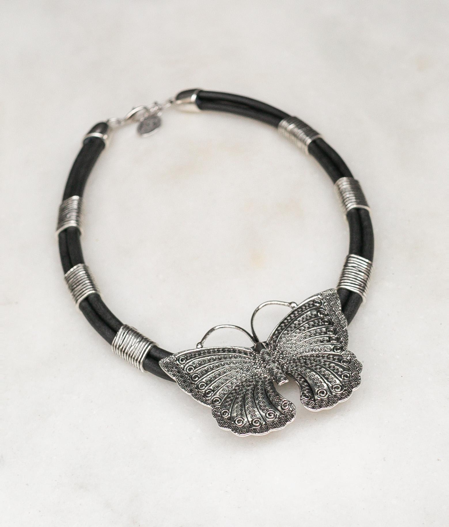 Necklace Tarwy - Black