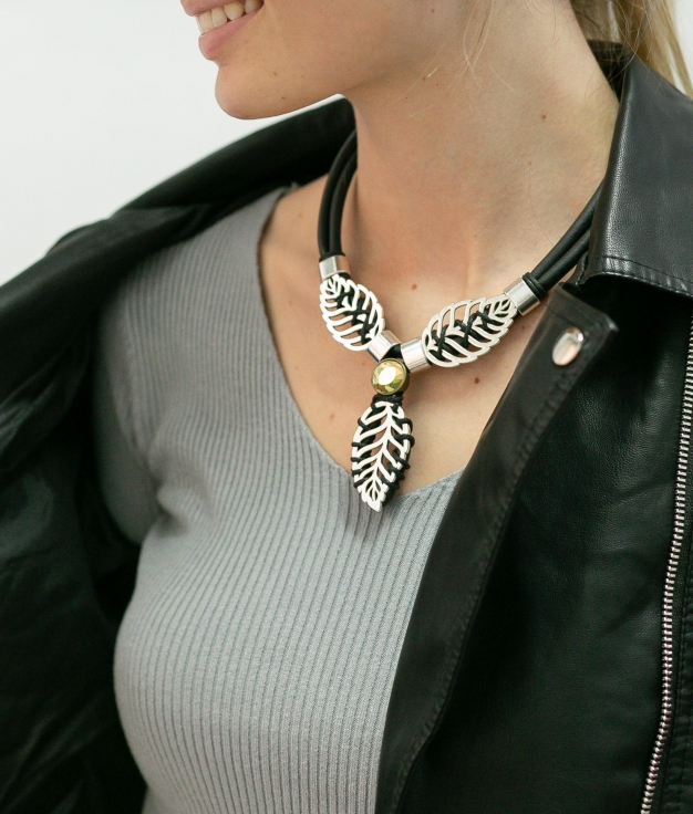 Necklace Amancay - Black