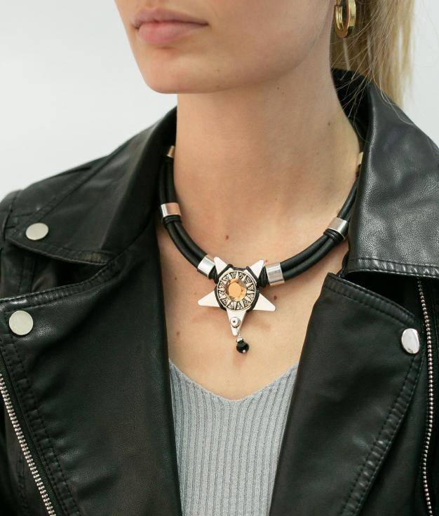 Necklace Serissane - Black