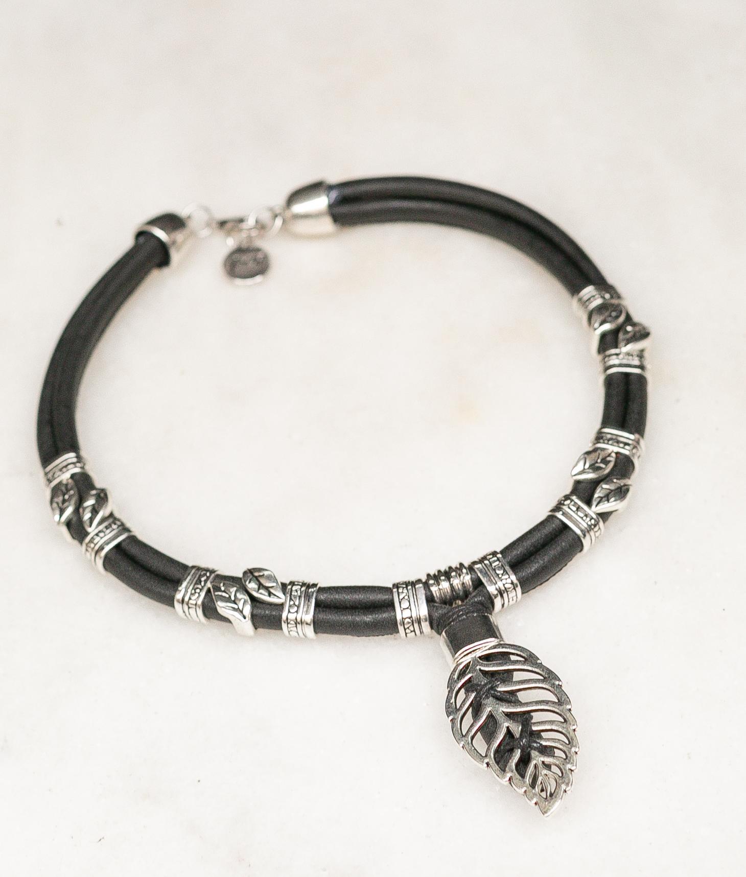 Collier Tiaca - Noir