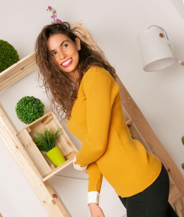 Sweater Romeder - Yellow