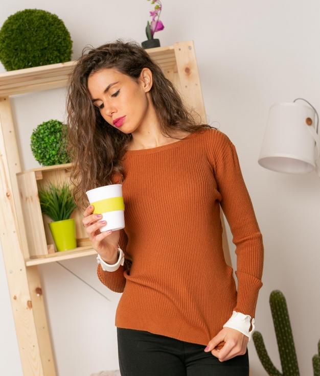 Sweater Romeder - Brown
