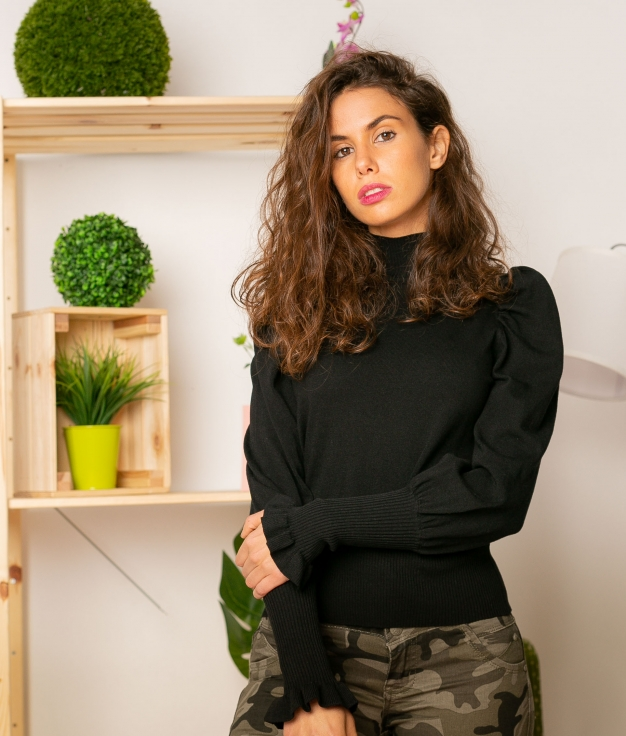 Sweater Volum - Black