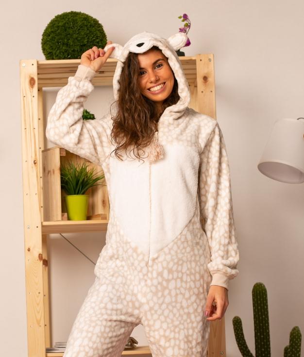 Mono Pijama Fabur - Beige
