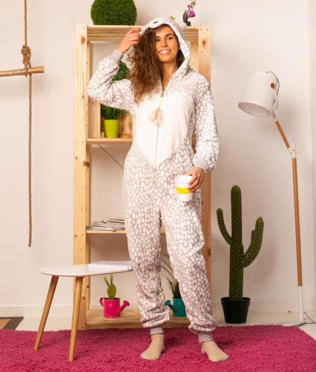 Mono Pijama Fabur - Malva