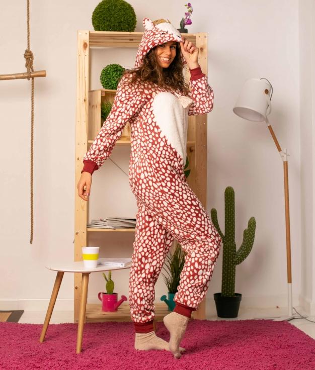 Mono Pijama Fabur - Rojo