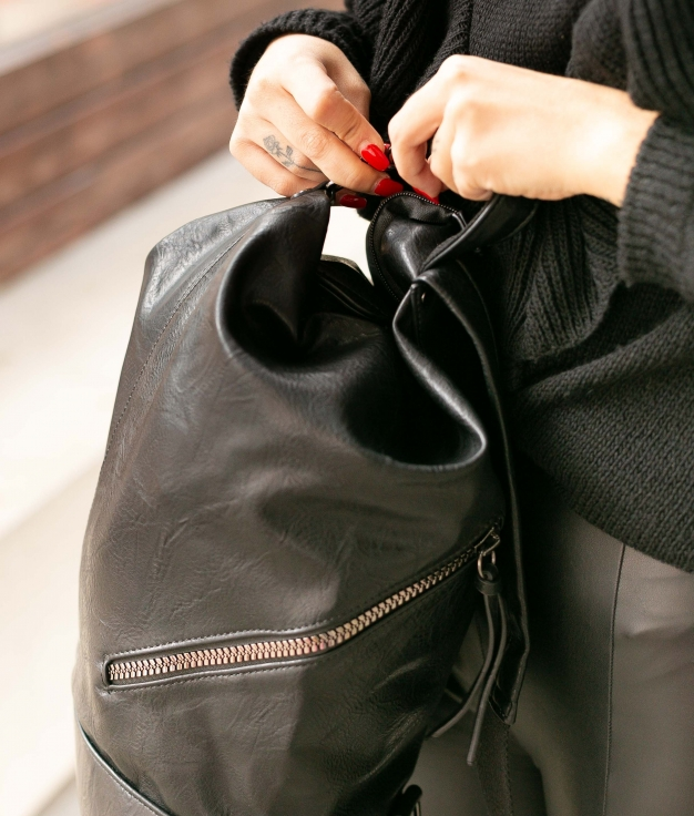 Backpack Visel - Black