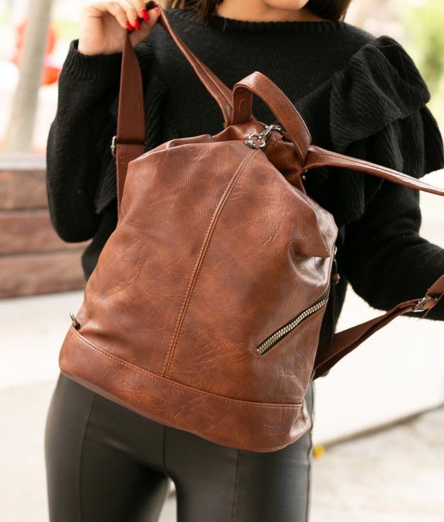 Backpack Visel - Brown