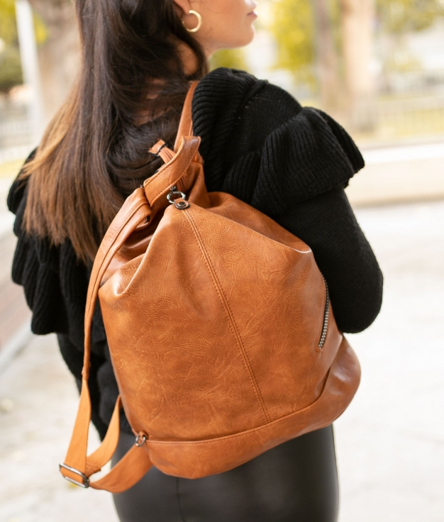 Backpack Visel - Camel