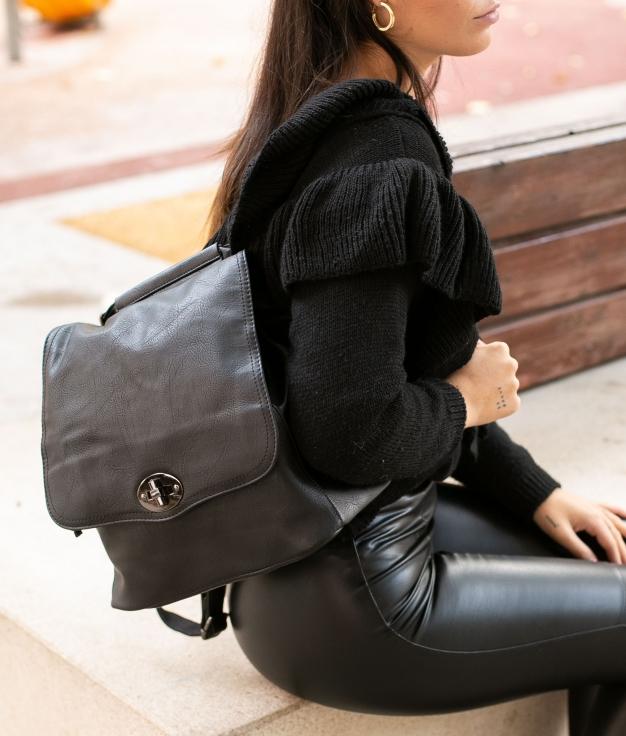 Backpack Hueter - Black