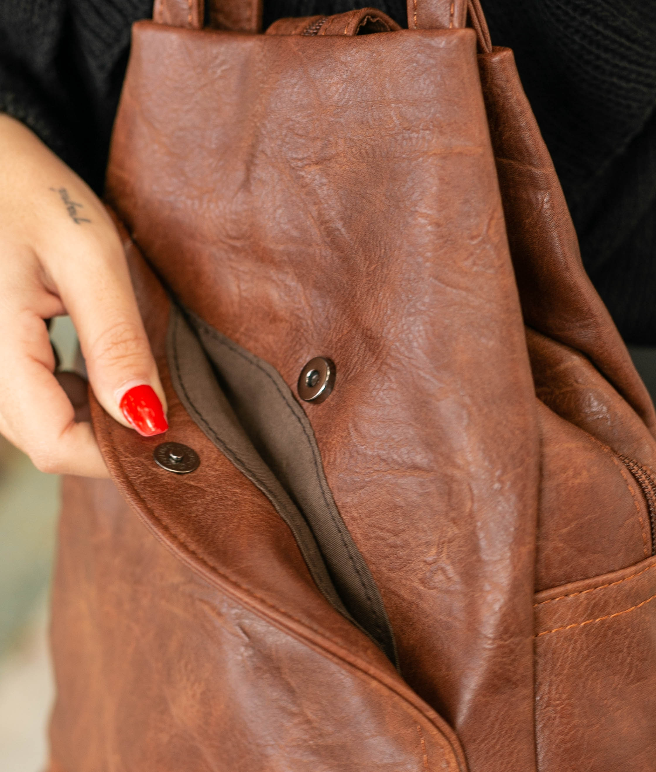 Backpack Crisfa - Brown