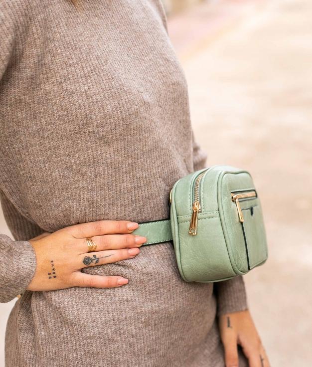 Belt bag Laupan - Green