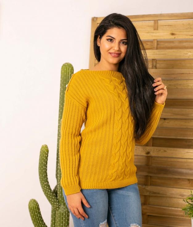 Sweater Patal - Mustard