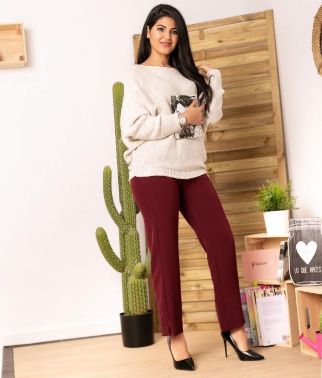 Pantaloni Soter - Granato