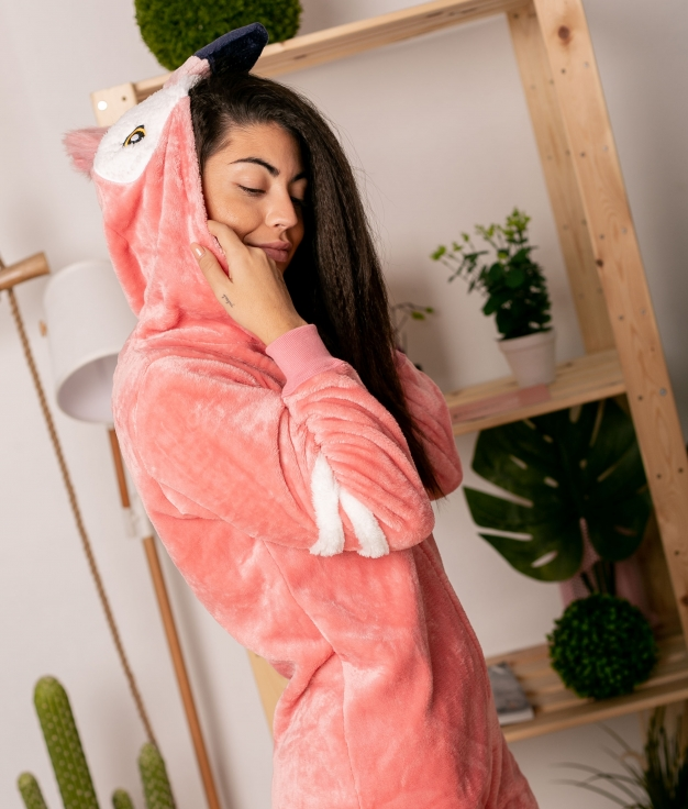 Mono Pijama Zento - Rosa