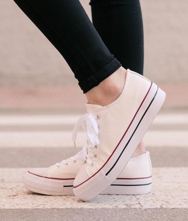 Sneakers Soli - Blanc