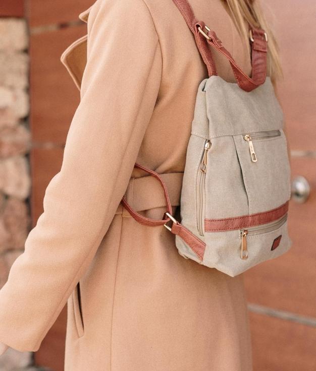 Backpack Jerso - Beige