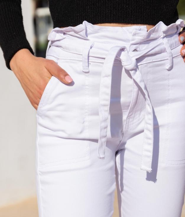 Pantalón Callut - Blanc