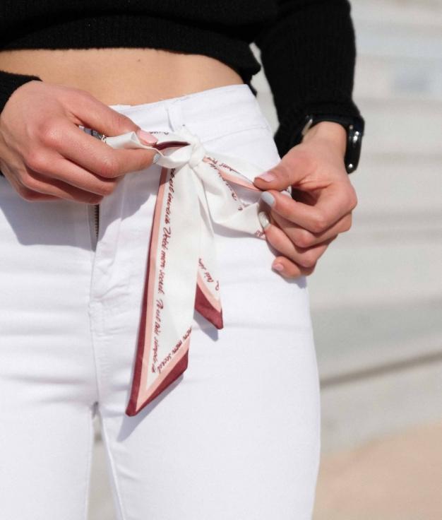 Pantalón Callut - Bianco