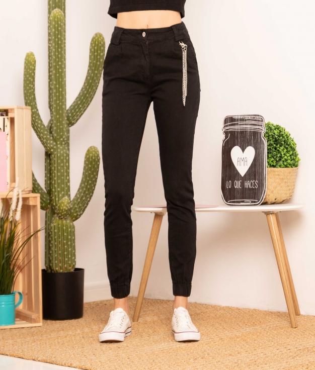 Pantalón Beburmis - Negro