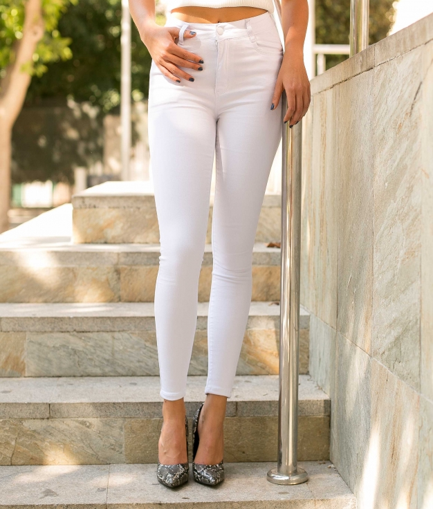 Trousers Glater - White