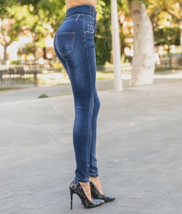 Pantaloni Dasalo - Denim