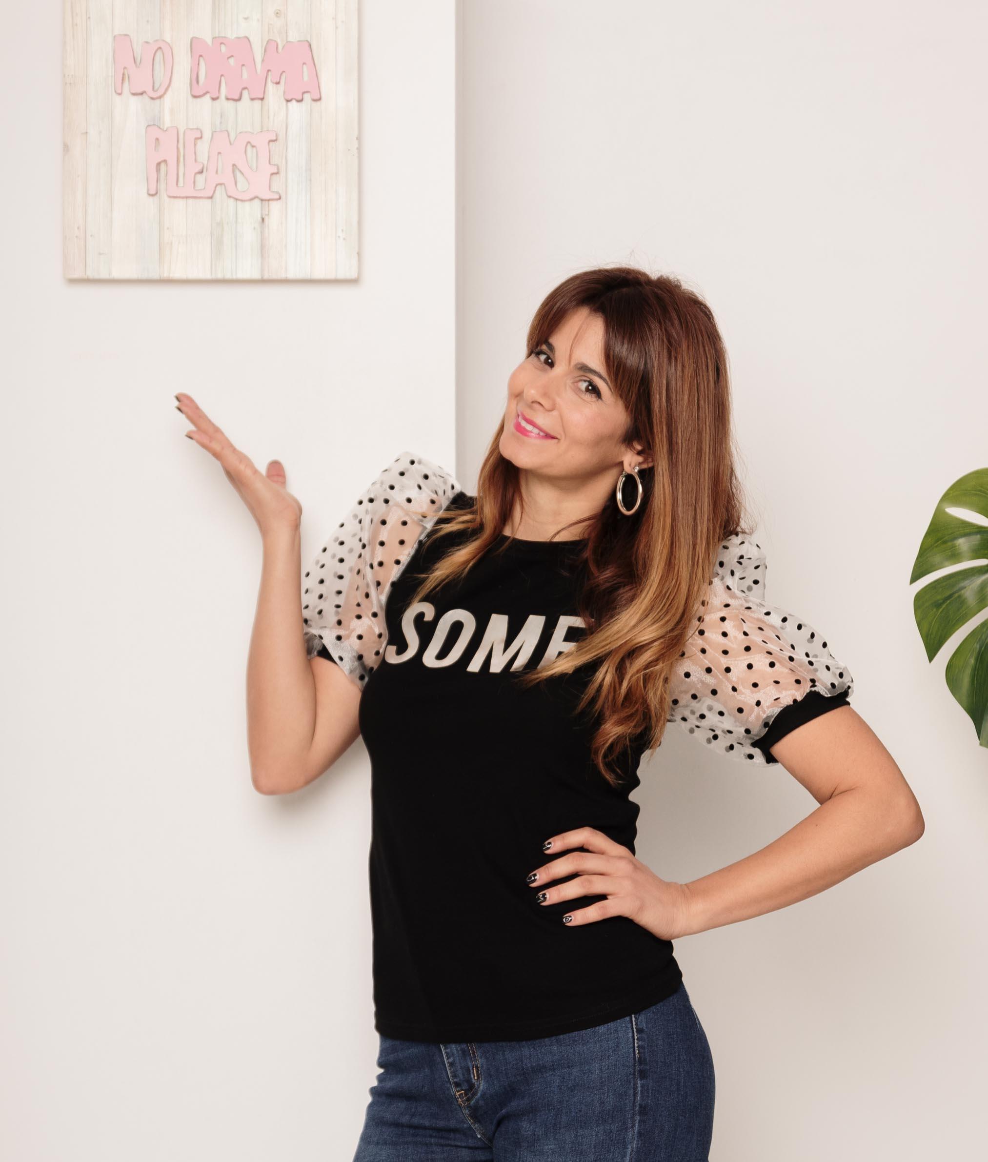 Camiseta Some - Preto