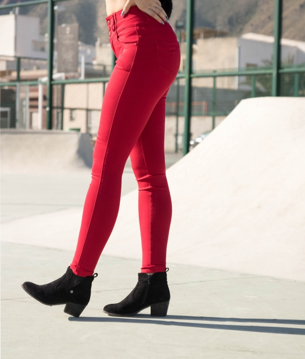 Trousers Subama - Red