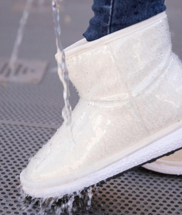 Low Boot Borla - Blanco