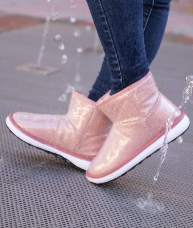 Boot Petite Borla - Rosa