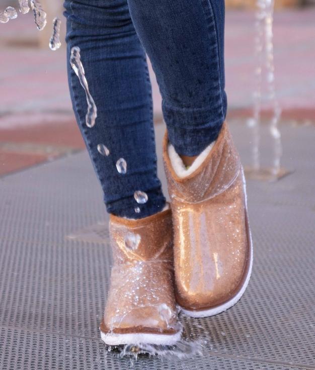 Boot Petite Borla - Camel