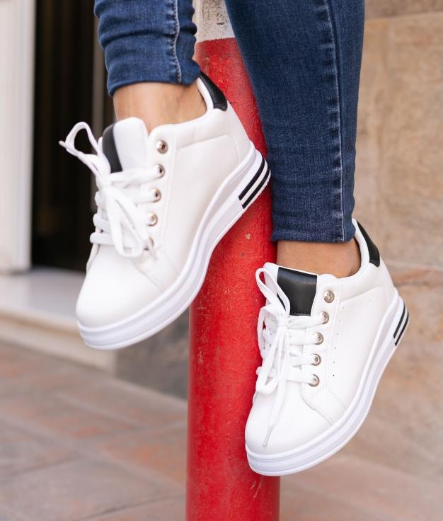 Sneakers Tilmur - Negro/Blanco