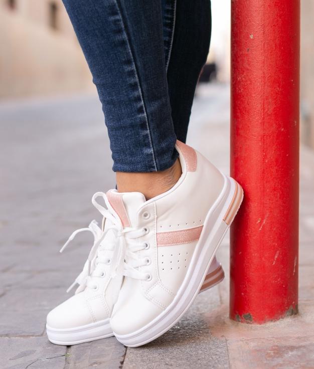 Sneakers Sofun - Rosa/Blanco