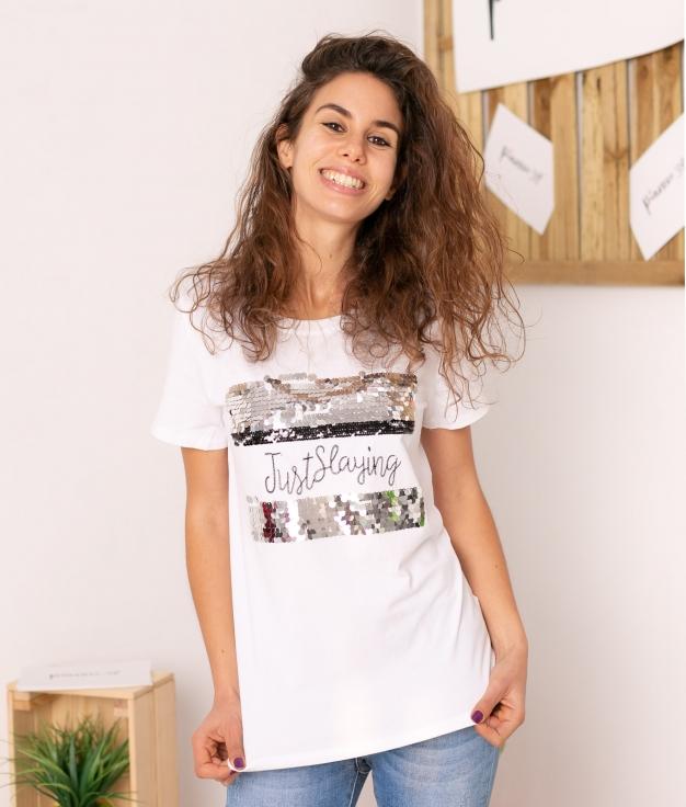 T-shirt Estrelent - Negro