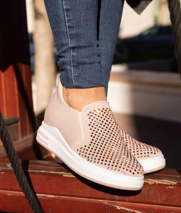 Sneakers Uluna - Nude