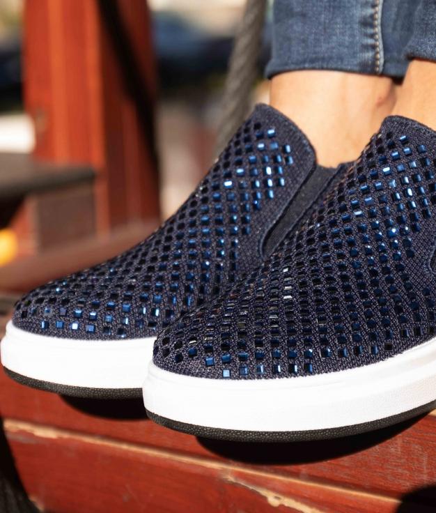 Sneakers Uluna - Blu Marino