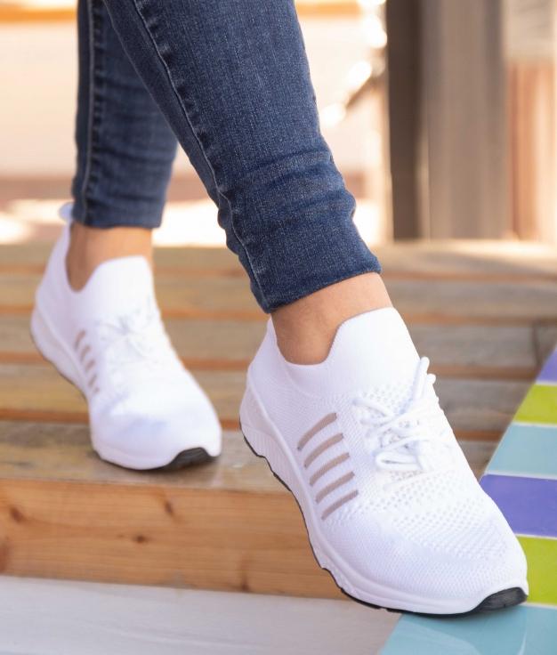 Sneakers Peser - Blanc