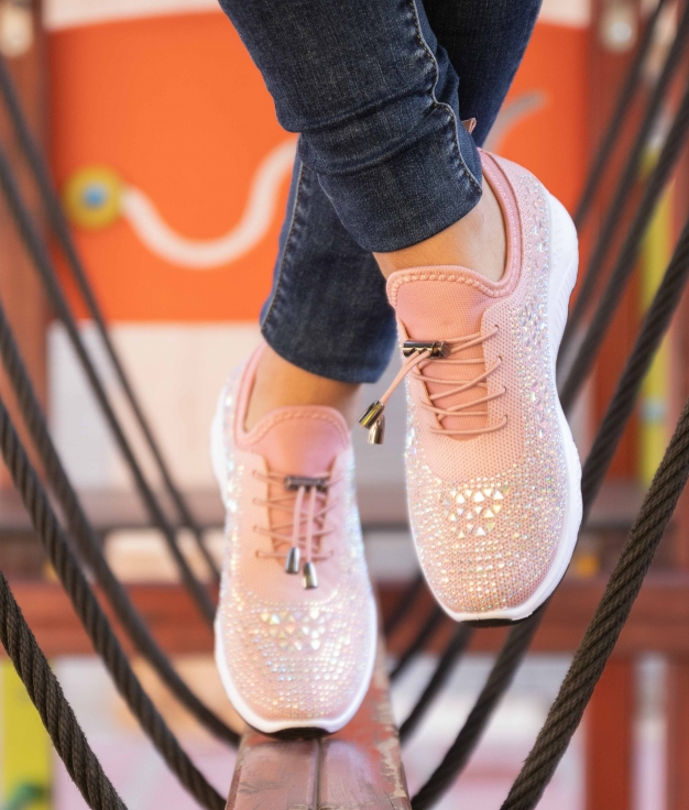 Sneakers Palsan - Champanha
