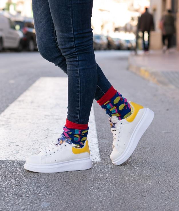 Sneakers Posami - Amarillo