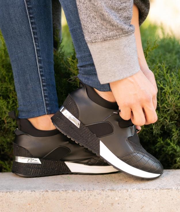 Sneakers Galenio - Negro