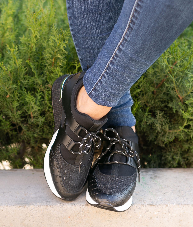 Sneakers Galenio - Preto