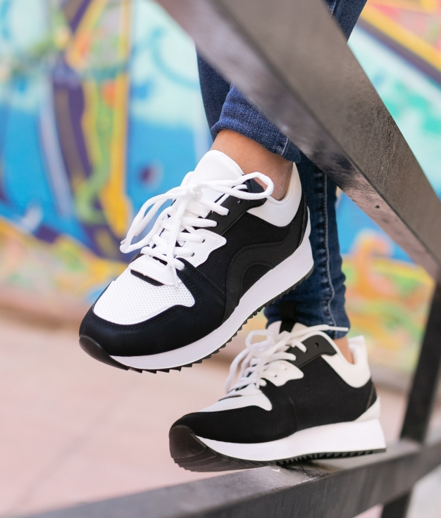 Sneakers Purun - Noir