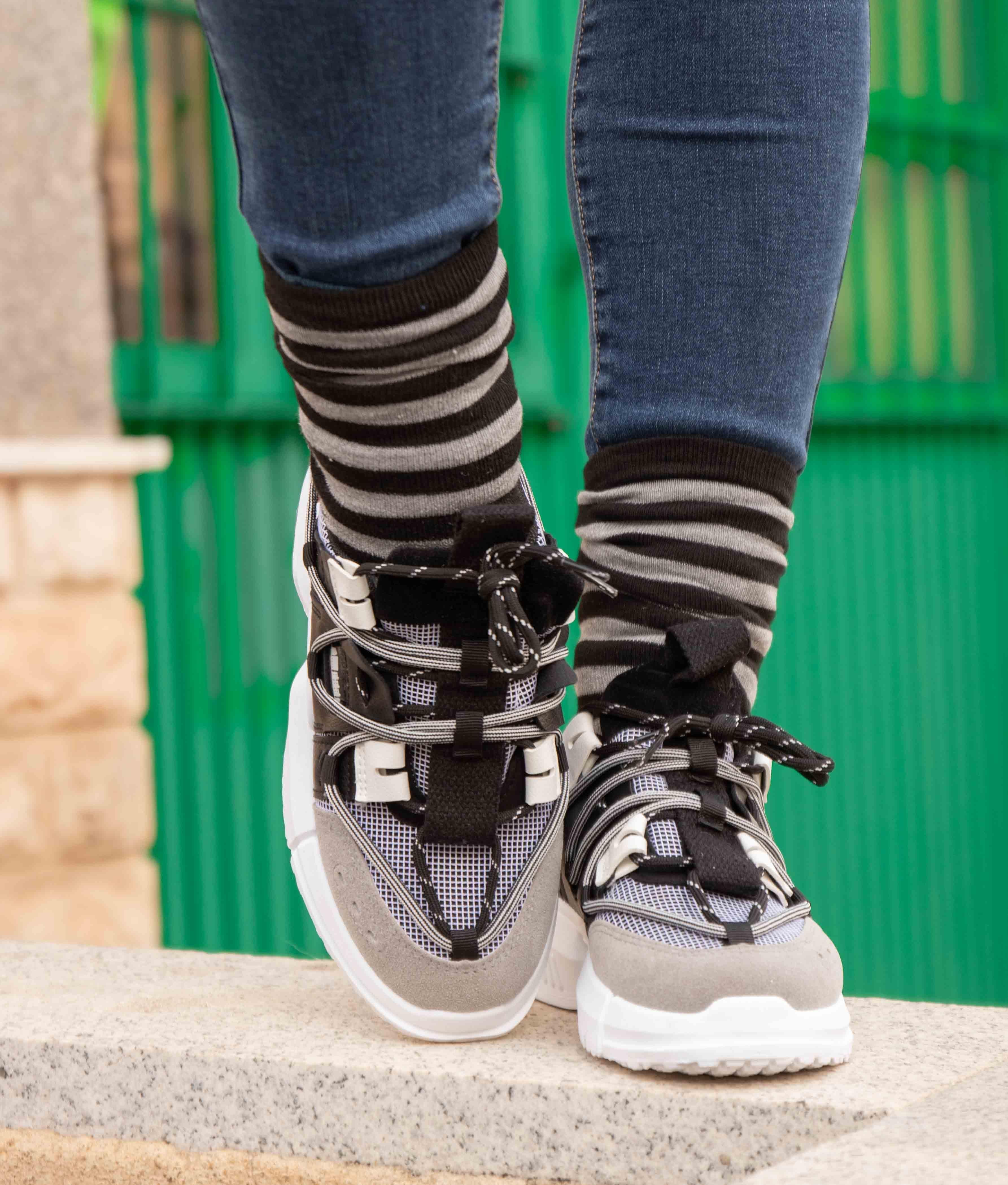 Sneakers Stereo - Black