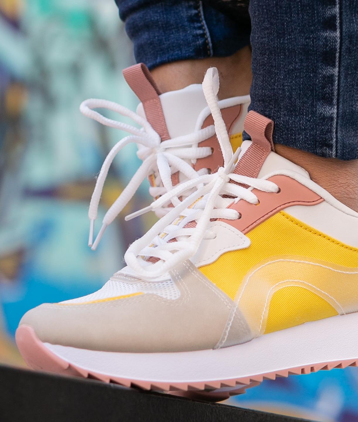 Sneakers Purun - Jaune