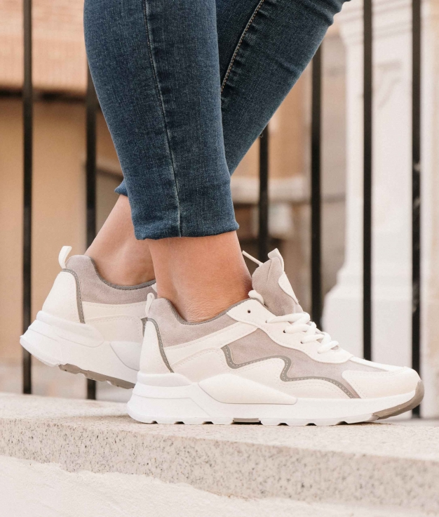 Sneakers Stormy - Blanc