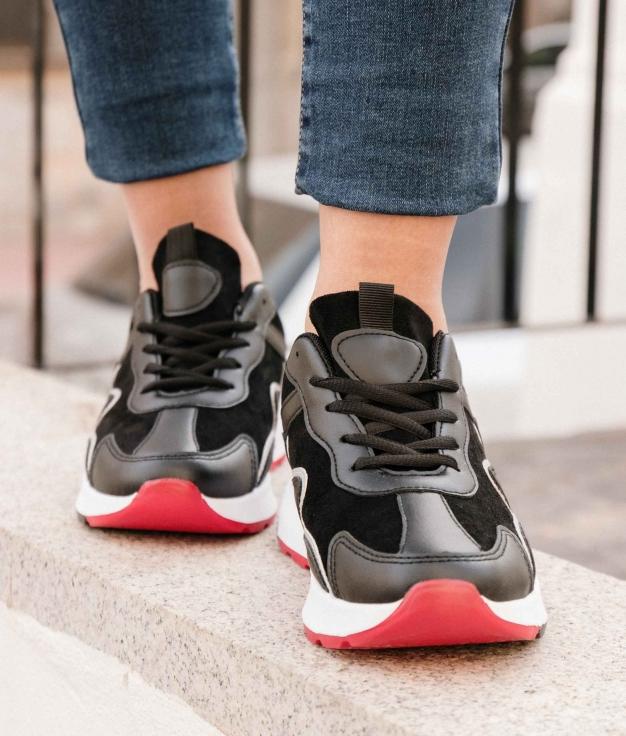 Sneakers Stormy - Noir