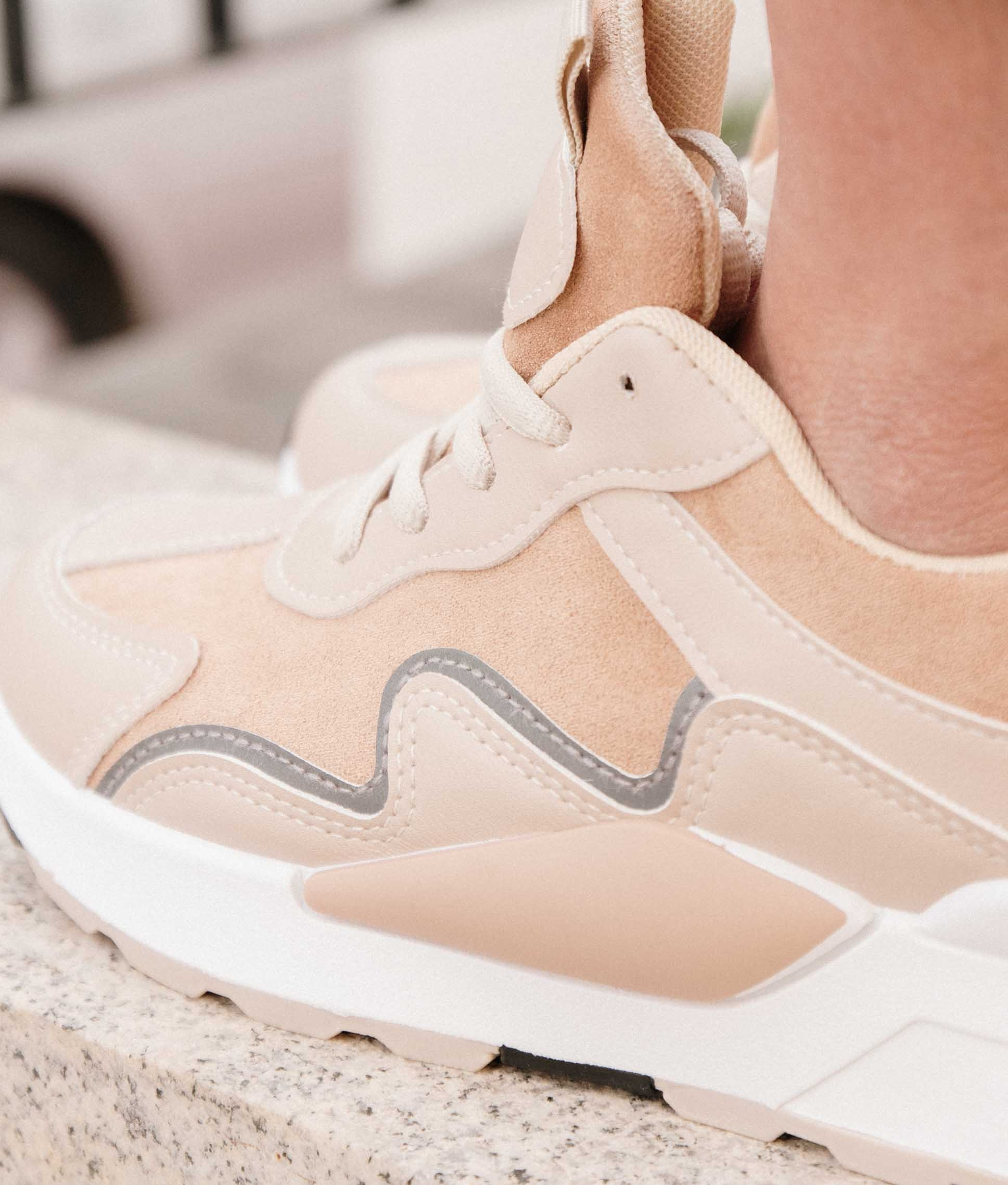 Sneakers Stormy - Beige